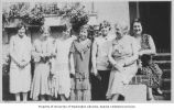Bertha Rind with John Hay Grammar School Mothers Group, Queen Anne neighborhood in Seattle, ca....