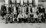 Horace Mann School class portrait, Seattle, Washington, January 1927