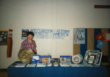 Goldie Silverman at Association of Reform Zionists of America booth at Israel Independence Day...