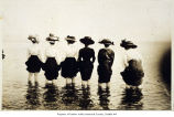 Photo of bathing beauties at Brighton Beach