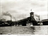 Photo of Colman Dock, with Mosquito Fleet in Elliott Bay