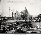 Photo of Skinner and Eddy shipyard, Seattle, 1918