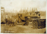 Photo of logging at Woodinville Logging Co., Woodinville, Ca. 1900