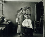 Photo of Edison Technical School, Permanent Wave Machine, 1936