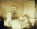 Photo of private room at Providence Hospital, Seattle ca.1908