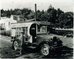 Photo of the Golden Arrow Dairy delivery truck