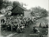 Photo of Coal Creek miners, 1909