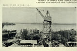 Image of Lake Washington Shipyards, Kirkland, 1945.