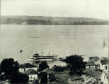 Photo of excursion steamer FORTUNA on Lake Washington , 1909