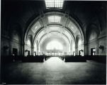 Photo of interior of Union Station railroad depot, Tacoma, ca. 1911