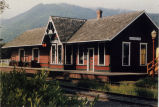 Depot on Seattle, Lake Shore and Eastern Railroad, Issaquah,  built 1889