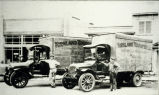 Photo of Kirkland Transfer Company trucks, 1915