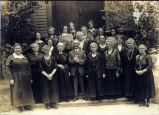 Photo of Seattle Welsh Ladies Aid group, ca. 1920