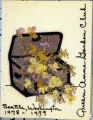 Cover of Year Book from Queen Anne Garden Club, 1978-79