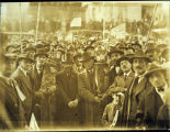 Photo of Herzl Congregation carrying the Torah, Seattle, 1925