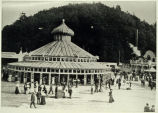 Photo of Gigantic Merry-Go-Round with German carousel, at Luna Park, 1907