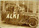 Photo of Alki Natatorium Float, ca. 1935