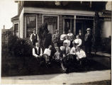 Photo of boarding house on Boren Ave. ca.1900