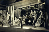 Photo of scene from a Kabuki play, ca.1928