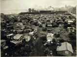 "Photo of ""Hooverville"" shantytown on the Seattle waterfront, ca. 1930's"