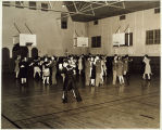 Photo of King County USO dance in school gym