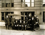 Photo of Prohibition Dry Squad members, 1919