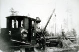 Photo of Meredith  Lumber Co. logging equipment