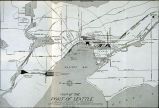 Map of the Port of Seattle, ca. 1925