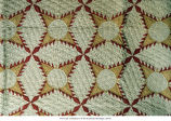Feather star pattern quilt, 1854