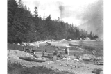 Engineering camp near Fort Seward, Alaska, 1909