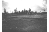 Grading work on the Fort Lawton parade ground, Washington, January 18, 1899