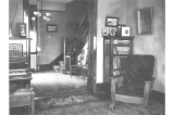 Interior of Kiehl house at 429 West Galer St., Seattle, Washington, 1909