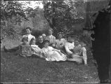 Group of picknickers at Bryn Mawr, May 30, 1904