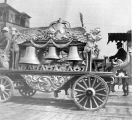Clarion Brothers Circus wagon, possibly Seattle, Washington, ca. 1903