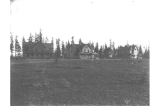 Officers quarters at Fort Lawton, Washington, 1900