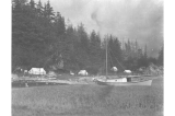 Engineers camp near Fort Seward, Alaska, 1909