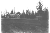Construction employees house and stable, Fort Lawton, Washington, March 16, 1899
