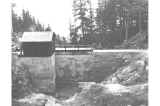 Dam for Fort Seward water supply, Alaska, 1909
