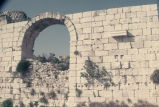 Arch in wall at Korikos Castle