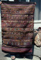 Bag with thin stripes, ashik guls and eye, burdock and scorpion motifs