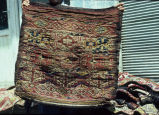 Very wide bag with large stripes of kaikalaks, dyrnak guls, and rams horns