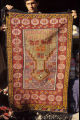 Prayer rug with stars, fleurons and s-motifs