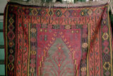 Kilim with a medallion, ashik guls and a tree of life