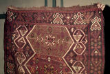 Kilim with aegricanes, hexagons, comb motifs and s-motifs