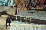 Heddles on a ground loom