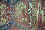 Close up of kilim
