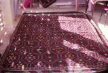 Complete rug with single stars in lozenges