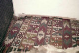 Kilim with wolf's mouths and ram's horns