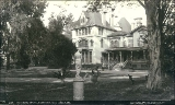 Residence of Governor Stanford, Palo Alto, California, 1888.