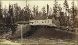 Powerhouse for the Lake Washington Cable Railroad Company at foot of Yesler Way, Leschi Park,...